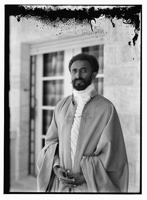 Haile Selassie, c. 1923(?) American Colony (Jerusalem) Photo Dept. (Library of Congress)
