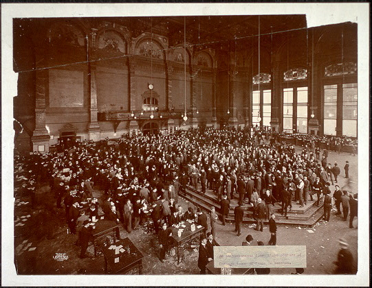 Flash Image of the Chicago Board of Trade
