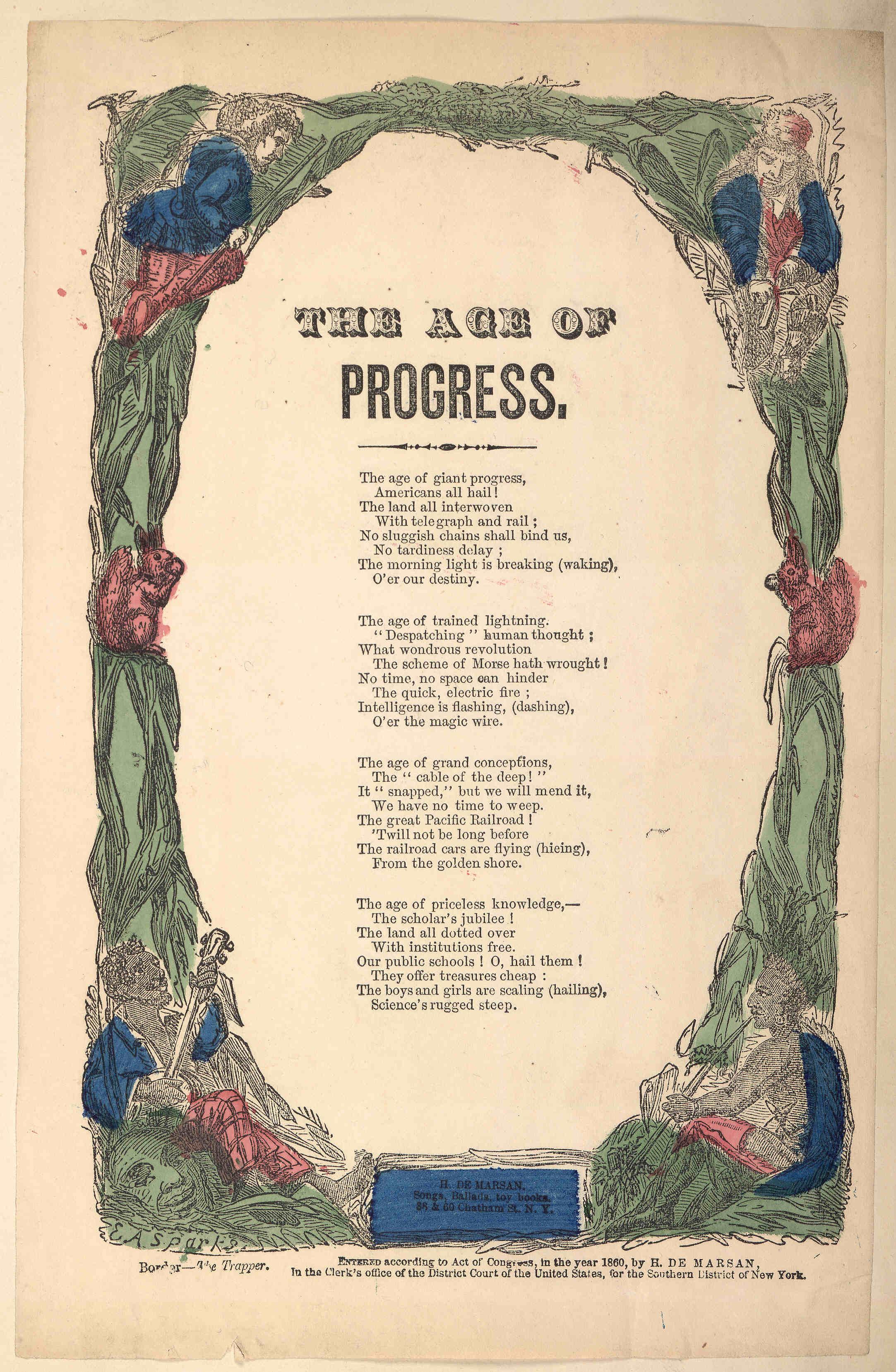 The Age Of Progress Poem