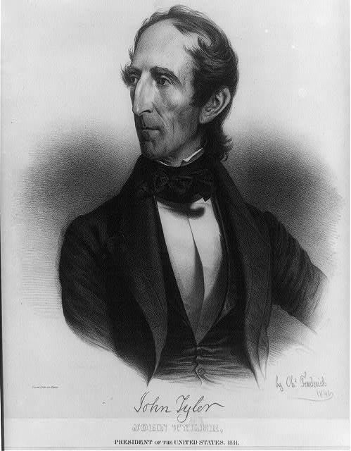 John Tyler, Tenth President of the United States, 1841