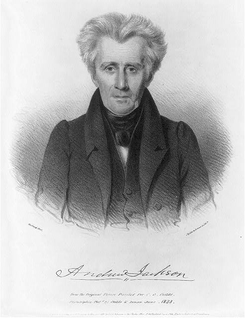 Andrew Jackson, Seventh President of the United States (1829 - 1837)