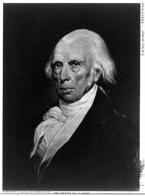 James Madison, Fourth President of the United States (1809 - 1817)
