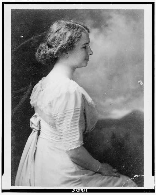 Helen Keller, c.1909 (Library of Congress)