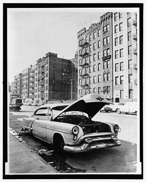 Macombs Rd., Bronx / World Telegram & Sun photo by Phil Stanziola, c.1964