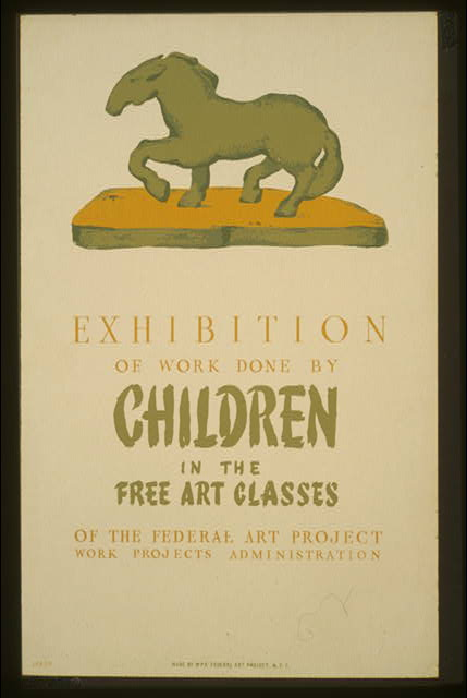 N.Y.C. : WPA Federal Art Project, between 1936 and 1939.  Frank Greco, artist.  (Library of Congress)
