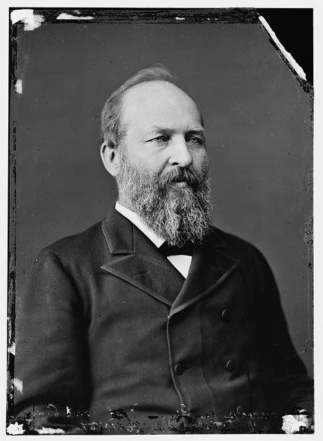 James A. Garfield, 20th President of the United States (1881)