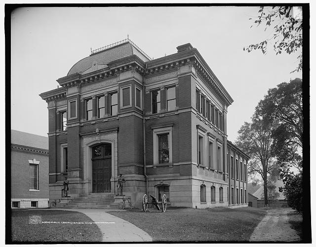 Public library (Memorial Hall), Northampton, Massachusetts (1907)