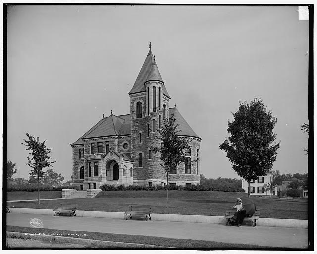 Public library, Laconia, New Hampshire (1908)