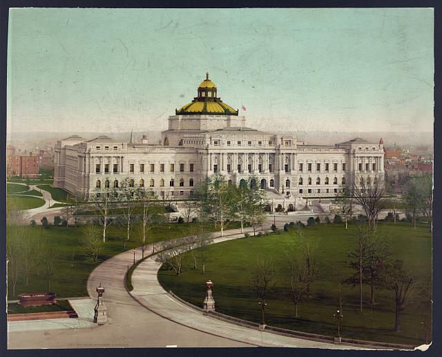 The Library of Congress, circa 1900