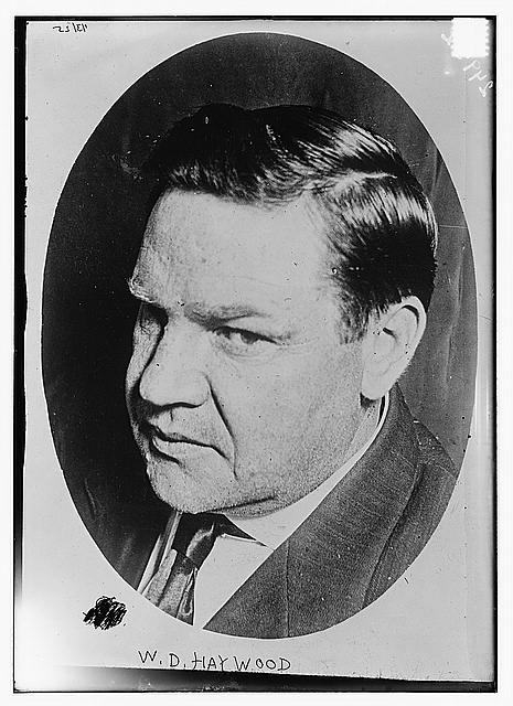 William D. Haywood (between 1910 and 1915)