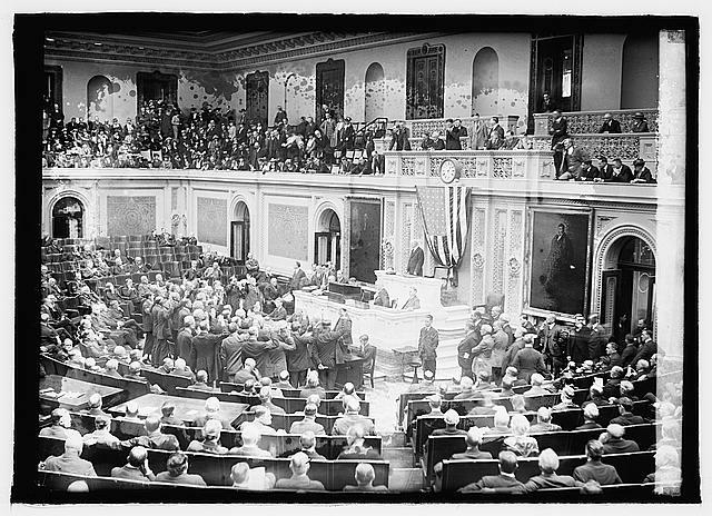 Swearing in new members, 67th Congress, 4/11/21