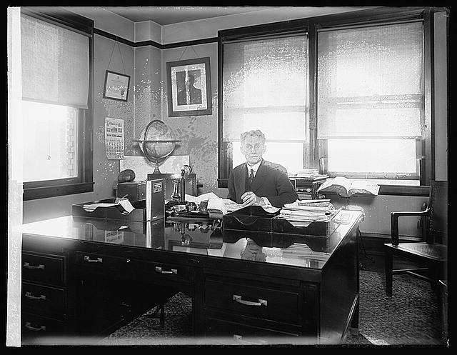 Samuel L. Rogers, Director of Census (1915)
