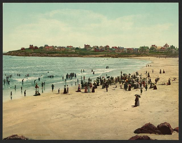 York Beach, Maine.  c1901.  (Library of Congress)