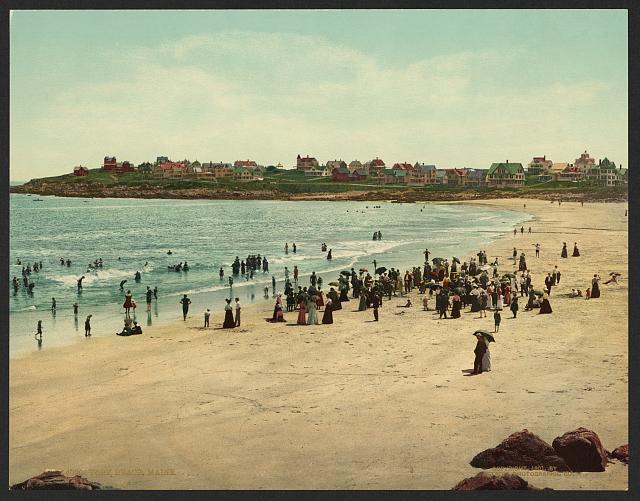 York Beach, Maine.  c1901.  (Library of Congress)