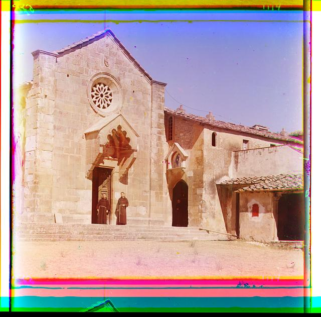 Catholic monastery, [Italy]