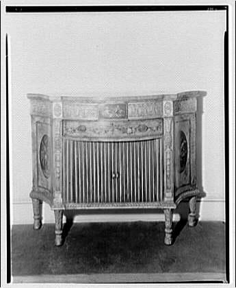 Desk cabinet circa 1920-1950