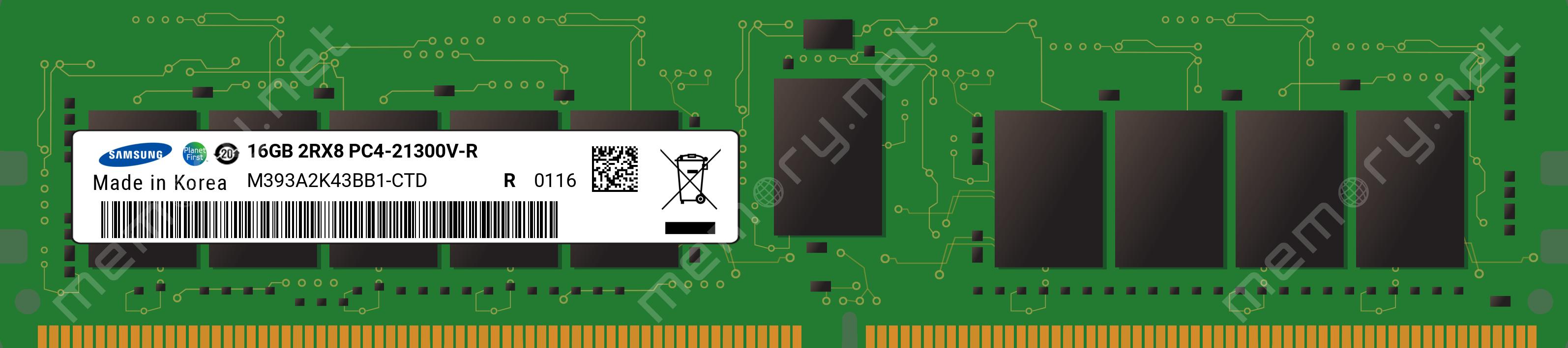 16GB PARTS-QUICK Brand Memory for HPE Cloudline CL4100 Gen10 DDR4-2666 CAS-19-19-19 ECC Registered DIMM RAM 1x16GB