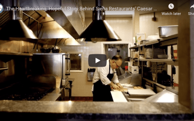 The Heartbreaking, Hopeful Story Behind Siena Restaurant's Caesar Salad