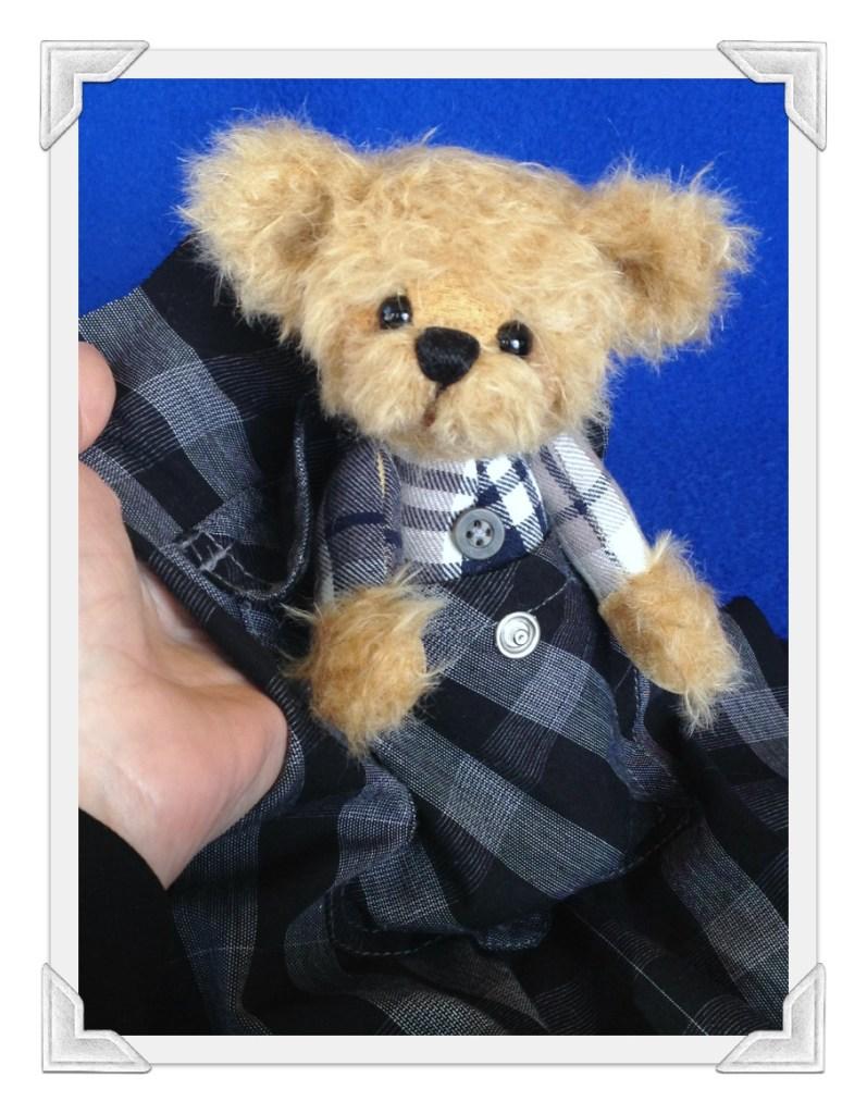 Memory Bear in Shirt Pocket