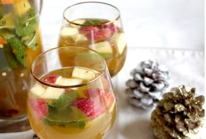 Cardamom Spiced Apple Kombucha Sangria