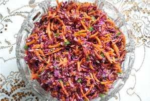 Detox Salad with Avocado Dressing