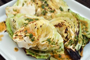 Grilled Cabbage Wedges