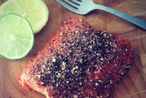 Lemon Pepper Baked Salmon