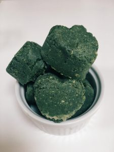 Matcha Spirulina Raw Cashew Hearts