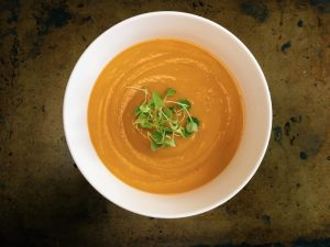 Butternut Squash & Sweet Potato Puree