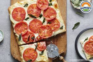 Browned Butter and Sage Yore™ & Mascarpone Flatbread
