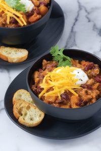Turkey, Kidney Bean and Butternut Squash Chili