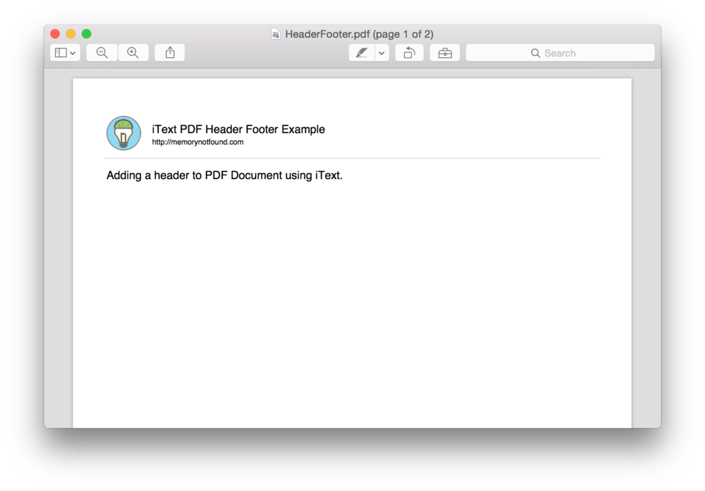 Itext Template  create pdf files in java tutorial