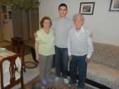 (Chisinau) Emanuel Ornstein with wife and grandson