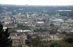 Lviv från slottsberget 2