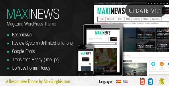 maxinews-theme