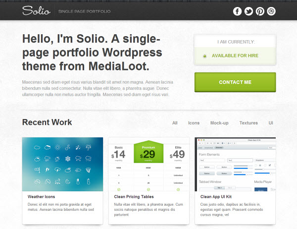 solio-wordpress-theme
