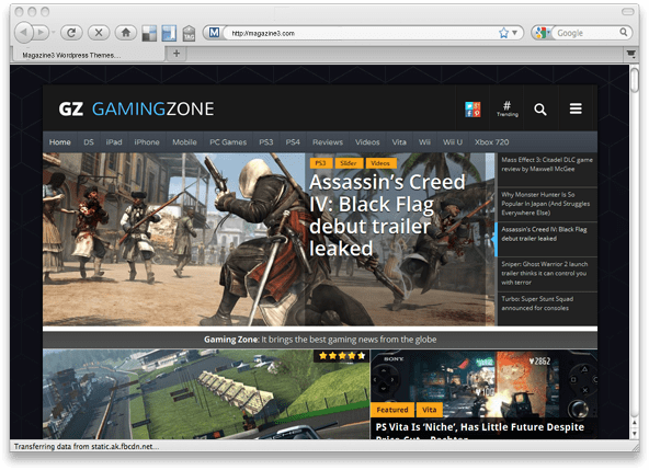 17 Of The Best Gaming WordPress Themes