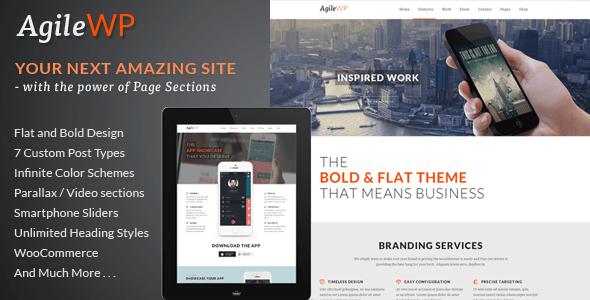 agile wordpress theme