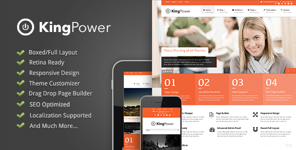 king power wordpress theme