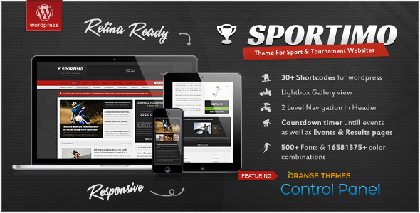 sportimo wordpress theme