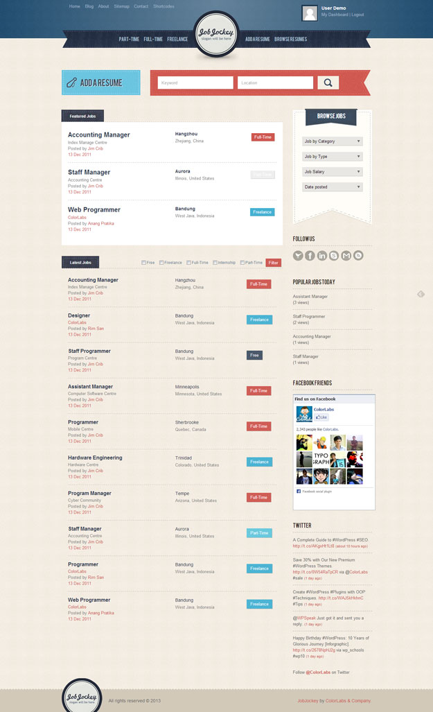 job jockey wordpress theme