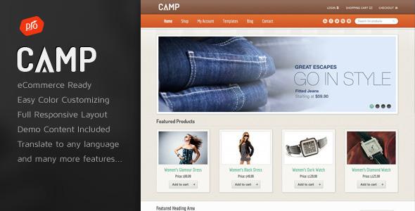 20+ Best WordPress Ecommerce Themes