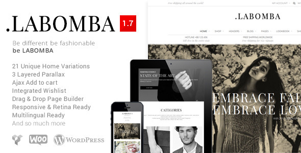 labomba wordpress theme