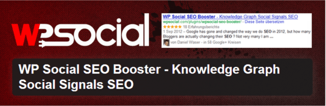 wordpress social seo booster