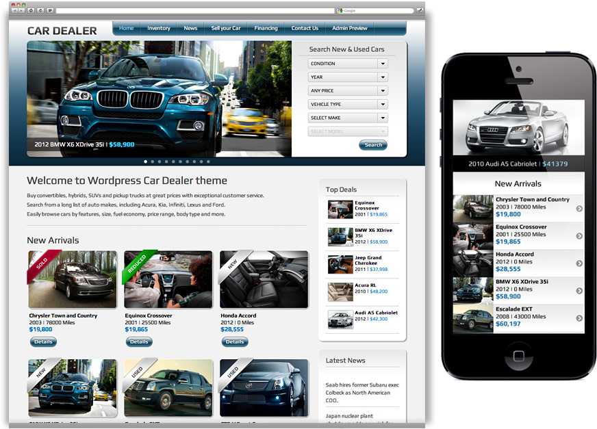 car-dealer-wordpress-theme