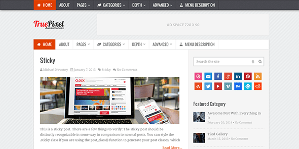truepixel-wordpress-theme