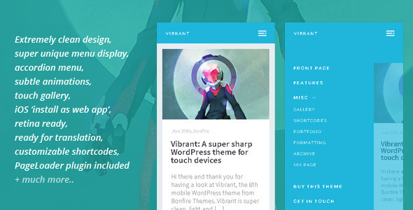 vibrant-wordpress-theme