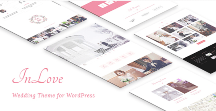 inlove responsive wedding theme