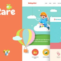 kids care children wordpress theme