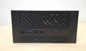 Mini-STXベースの格安ベアボーンPC ASRock Desk Mini 110/B/BBのレビュー